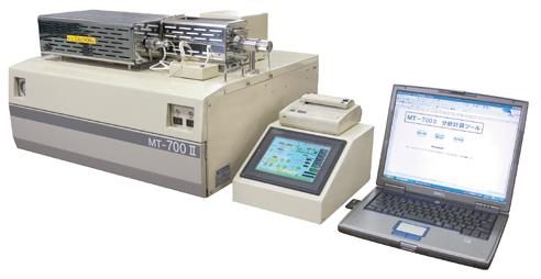 炭素・窒素同時定量装置 CNコーダー MT-700Mark2